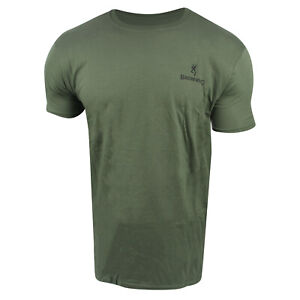Browning X-Bolt Banner T-Shirt (3X)- Military Grn/Blk