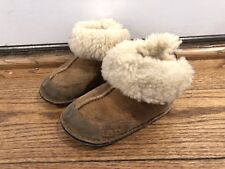 UGG suede brown baby boots M 12-18 Mths
