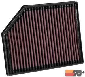 K&N Replacement Air Filter For VOLVO V90 II L4-2.0L DSL 2016-2017 33-3065