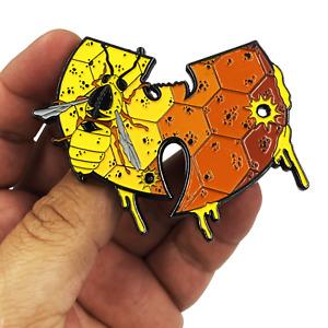 EL2-009 Wu-Tang Hornet Killer Bee Murder Hornet Wasp Inspired Honey Comb large 3