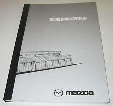 Schulungsunterlage Mazda 121 ZQ 626 GF GW 323 B3 Z2 FP Technische Infos 08.2000!