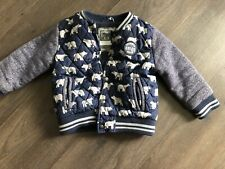 boys coat jacket 3-4years (fleece lined)