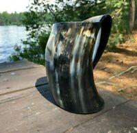 Viking Drinking Beer Horn Mug Game of Thrones Gift Unique Handmade 25Oz Beer Mug