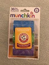 Munchkin Disposable Diaper Bag Refills, Lavender, 3 Count W