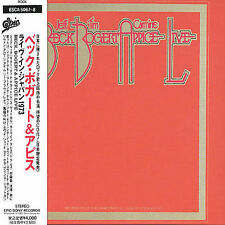Beck Bogert & Appice Live by Beck, Bogert & Appice (CD, Feb-1993, Sony)