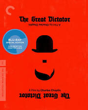 The Great Dictator (Blu-ray Disc, 2011, Criterion Collection) New!