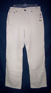 CHARTER CLUB BISQUE STRETCH CORDUROY JEANS                                SIZE 6