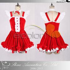 EE0282AA SUPERSONICO Christmas Dress Cosplay Costume