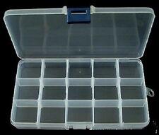 Bead/resultados caja de plástico, 17.5cm excelente para la fabricación de joyas