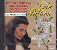 Lola Beltran y Maria de Lourdes Cancion Mixteca CD New Nuevo sealed