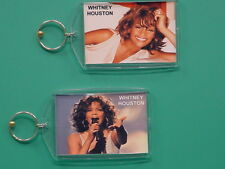 Whitney Houston - with 2 Photos - Designer Collectible Gift Keychain