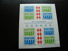 MONACO - timbre yvert et tellier bloc n° 28 n** (Z4) stamp