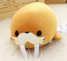 Walruses Stuffed Animal Cute Walruses Cartoon Animal Plush Doll Toy For Kid 20cm