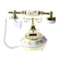 Telefono design d'epoca nostalgia telescopio telefono d'epoca in ceramica M M5F1