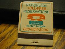 Ask Family Plan Vintage Nationwide Howard Johnson's Motor Lodges Matchbook