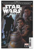 Star Wars Allegiance #2 2019 Unread Luke Ross Variant Cover Marvel Comics Sacks