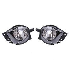 For BMW E90 E91 05-08 325 328 335 Sedan Clear Fog Lights Driving Bumper Lamps