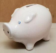 Antique Money Box with Break Theme Animals One Pig (Terracotta)
