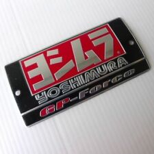 New Logo Exhaust Yoshimura Motocycle Aluminium Decal Muffler Metal Badge Plate