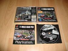 F1  WORLD GRAND PRIX FORMULA 1 DE VIDEOSYSTEM PARA LA SONY PS1 USADO COMPLETO