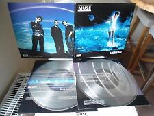 MUSE >>> original limited numbered 3.000 clear Vinyl 2LP <<< Showbiz (1999)