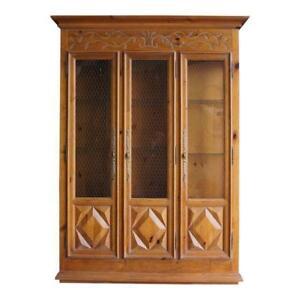 China Hutch ~ China Cabinet ~ Display Cabinet ~ Bookcase ~ Curio