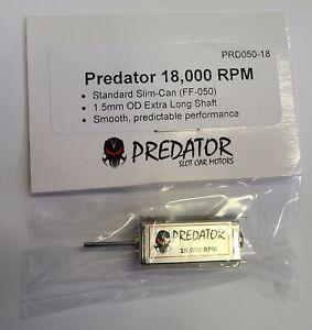 PREDATOR SLIM-CAN 18,000 RPM FF-050 MOTOR 1/32 SLOT CAR PART