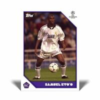 Samuel Eto'o - TOPPS The Lost Rookie Cards