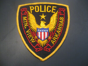 MOUNTAIN VIEW ARKANSAS POLICE PATCH
