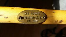 """Four """"Old Hickory"""" Original Rustic Chairs Shelbyville IN"""