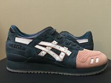 "Asics Gel Lyte III ""Salmon Toe"" x KITH Ronnie Fieg Made in Japan Size 11 LIMITED"