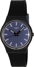 Swatch Women's Originals GB281 Black Silicone Swiss Quartz Watch