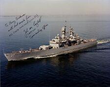 USS South Carolina Commander JOHN ST. CLAIR CRAIGHILL Signed Photo