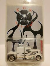 Hot Wheels Custom White *CONVOY CUSTOM*  by  KDR KUSTOMS