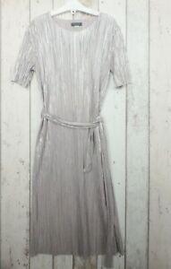 Pretty Girls Silver Shimmer Dress - River Island (11 - 12 years)