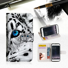 Leopard Wallet TPU Case Cover For OPPO F1 -- A013