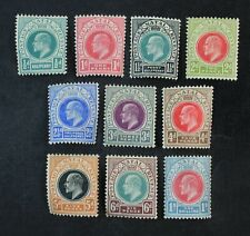 Ckstamps: Gb Stamps Collection Natal Scott#81-90 Mint H Og