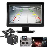 """Car Rear View System Monitor 4.3"""" TFT LCD+Night Vision Backup Reverse Camera Kit"""