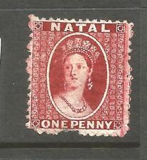 NATAL  1863  1d  LAKE  QV   MH  SG 18