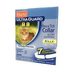 Flea Collar for Cats and Kittens Water Resistant 7 Months Full Body Protection