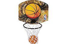 NBA Micro Mini Basketball Ring, Net & Ball Set