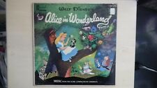 RARE Walt Disney's ALICE IN WONDERLAND Disneyland Record WDL-4015 LP 1957
