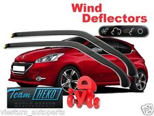PEUGEOT 208  3.doors  2012 - ON Wind deflectors 2.pc  HEKO 26148