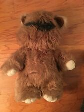 "Vintage Wicket The Ewok Stuffed Figure 15"" Kenner 1983 Lucas Film"