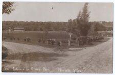 MANKATO MN Minnesota Sibley Park  Entrance 1911 RPPC