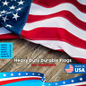 US Flag American flags 4x6 ft 300D 100% Premium Quality Nylon Embroidered Stars