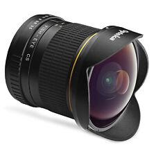 Opteka 6.5mm Fisheye Lens for Canon EF 90D 80D 77D T8i T7i T7s T7 T6i T6 T5 SL3