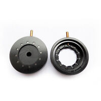Optics Condenser Iris Aperture Diaphragm Microscope Camera 10 Blades 0.5-16mm