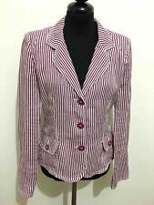 ARMANI JEANS Giacca Donna Lino Linen Flax Woman Jacket Blazer Sz.S - 40