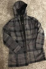 Barbour Women's Size 12  Reversible Beadnell Coat Excellent Condition!